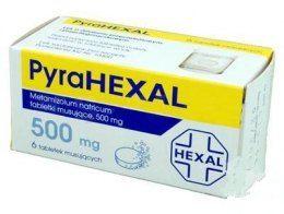 Pyrahexal tabletki musujące