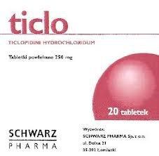 Ticlo tabletki