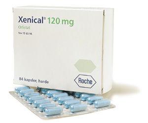 Orlistat 120 mg capsules hard
