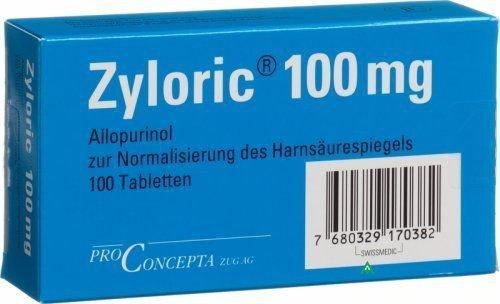 Zyloric 100 tabletki